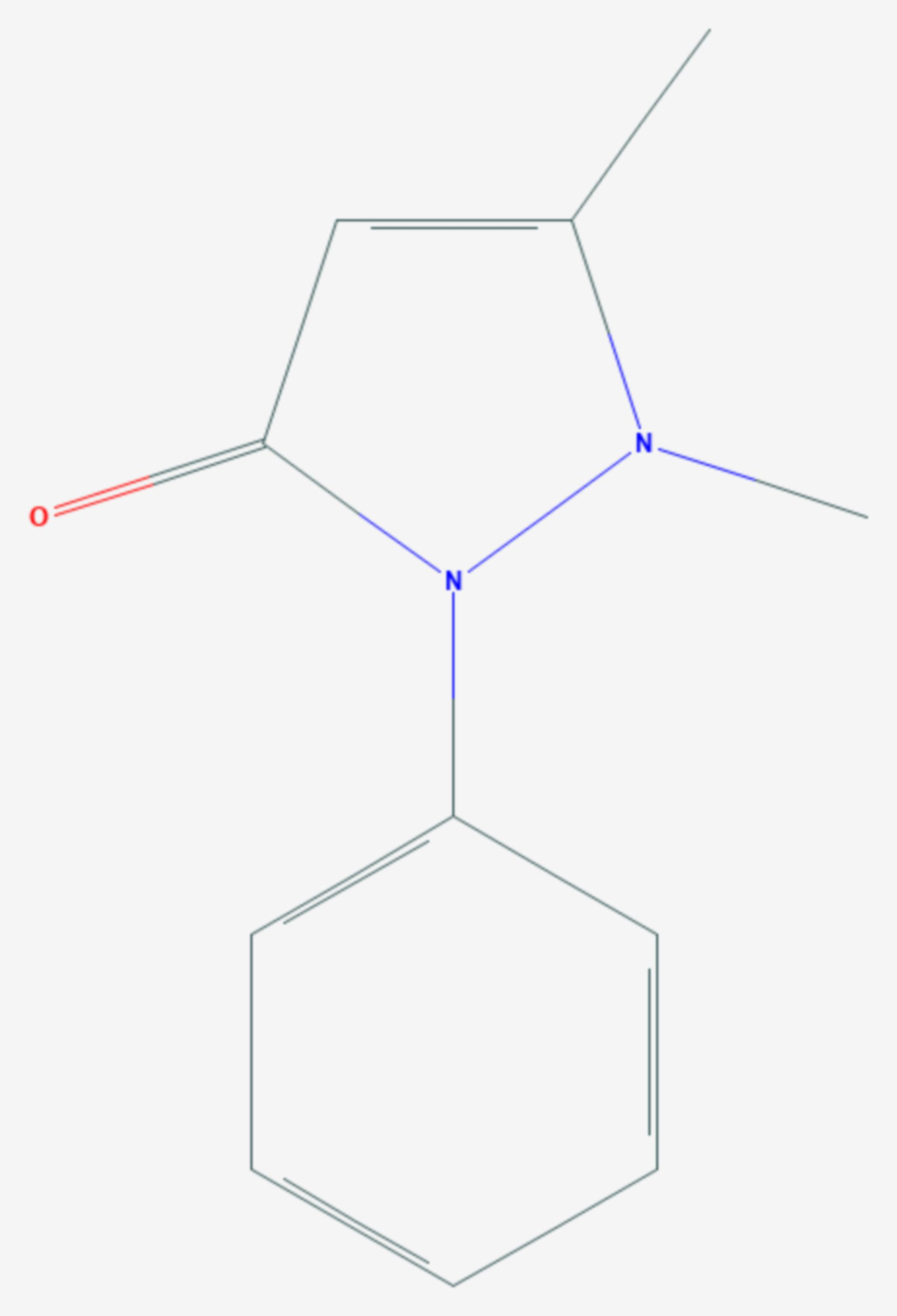 Phenazon (Strukturformel)