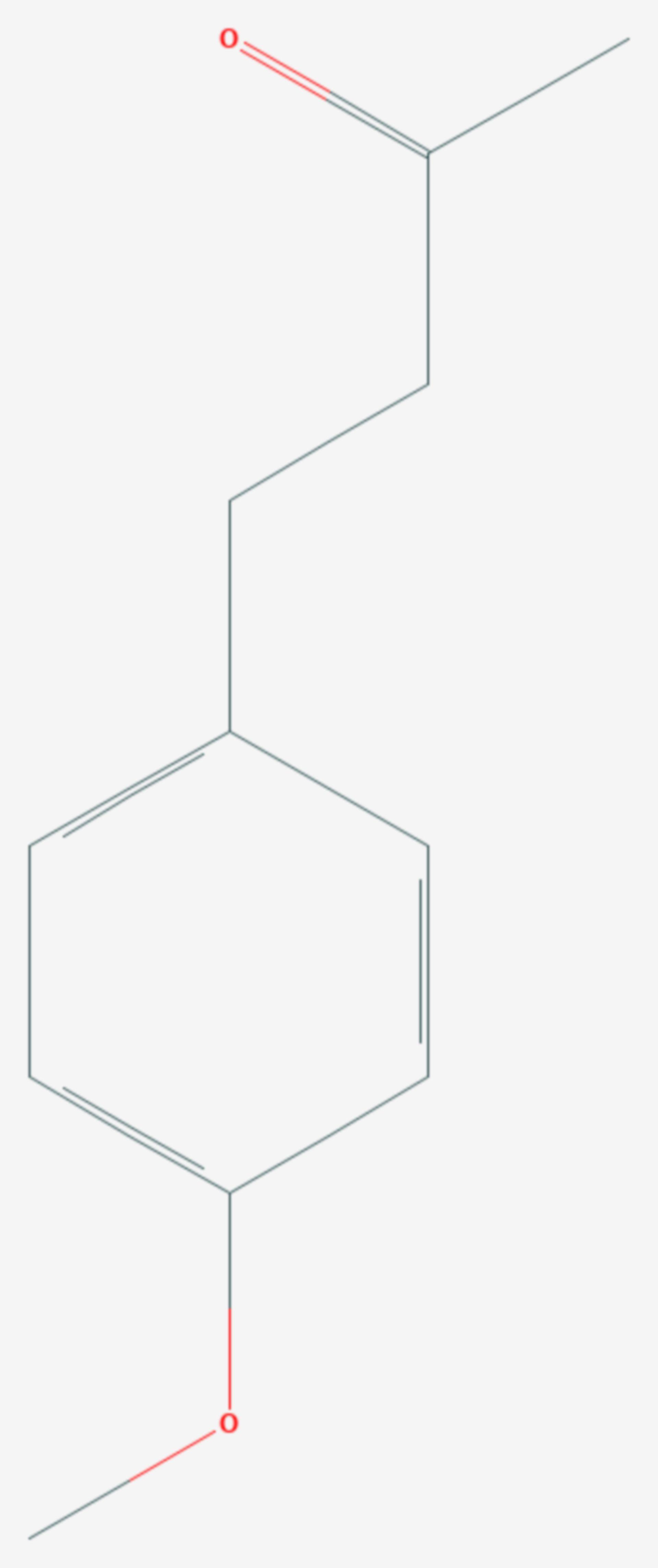 Anisylaceton (Strukturformel)