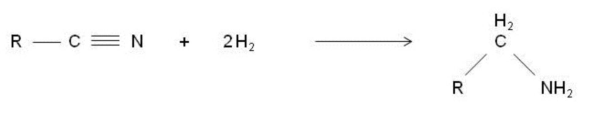 Reducción a amina