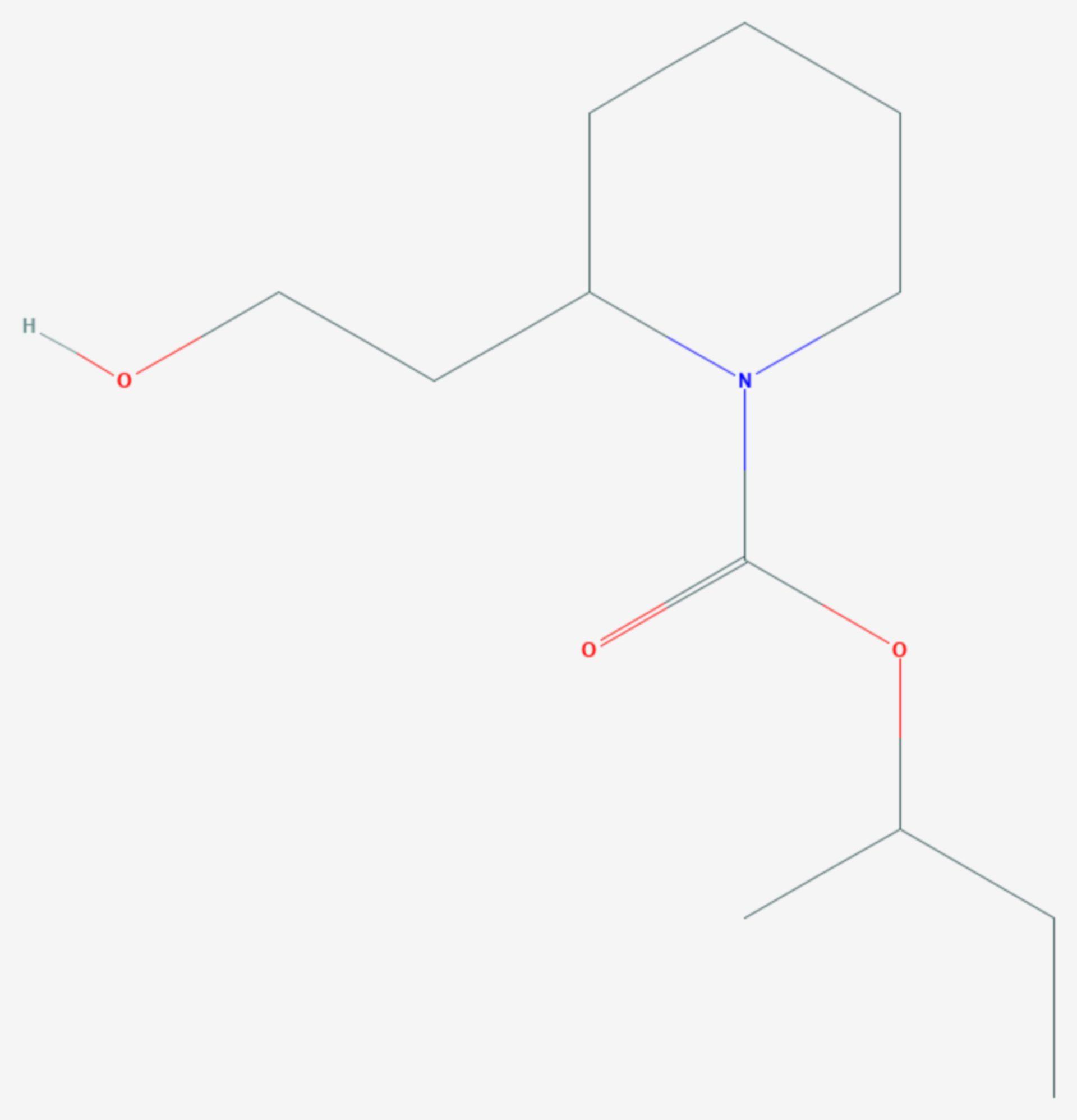 Icaridin (Strukturformel)