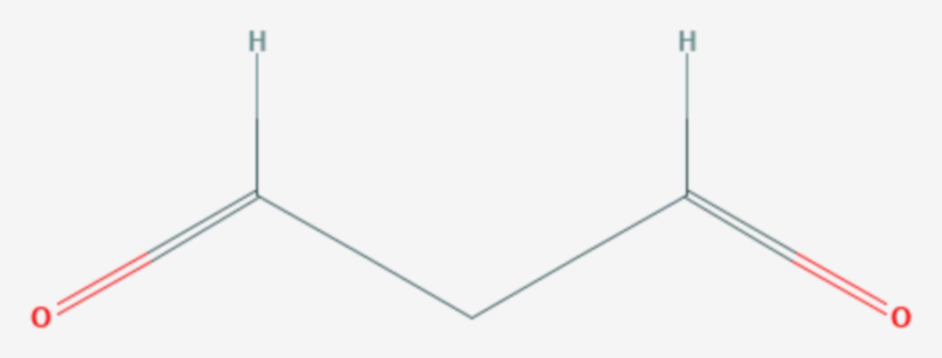 Malondialdehyd (Strukturformel)