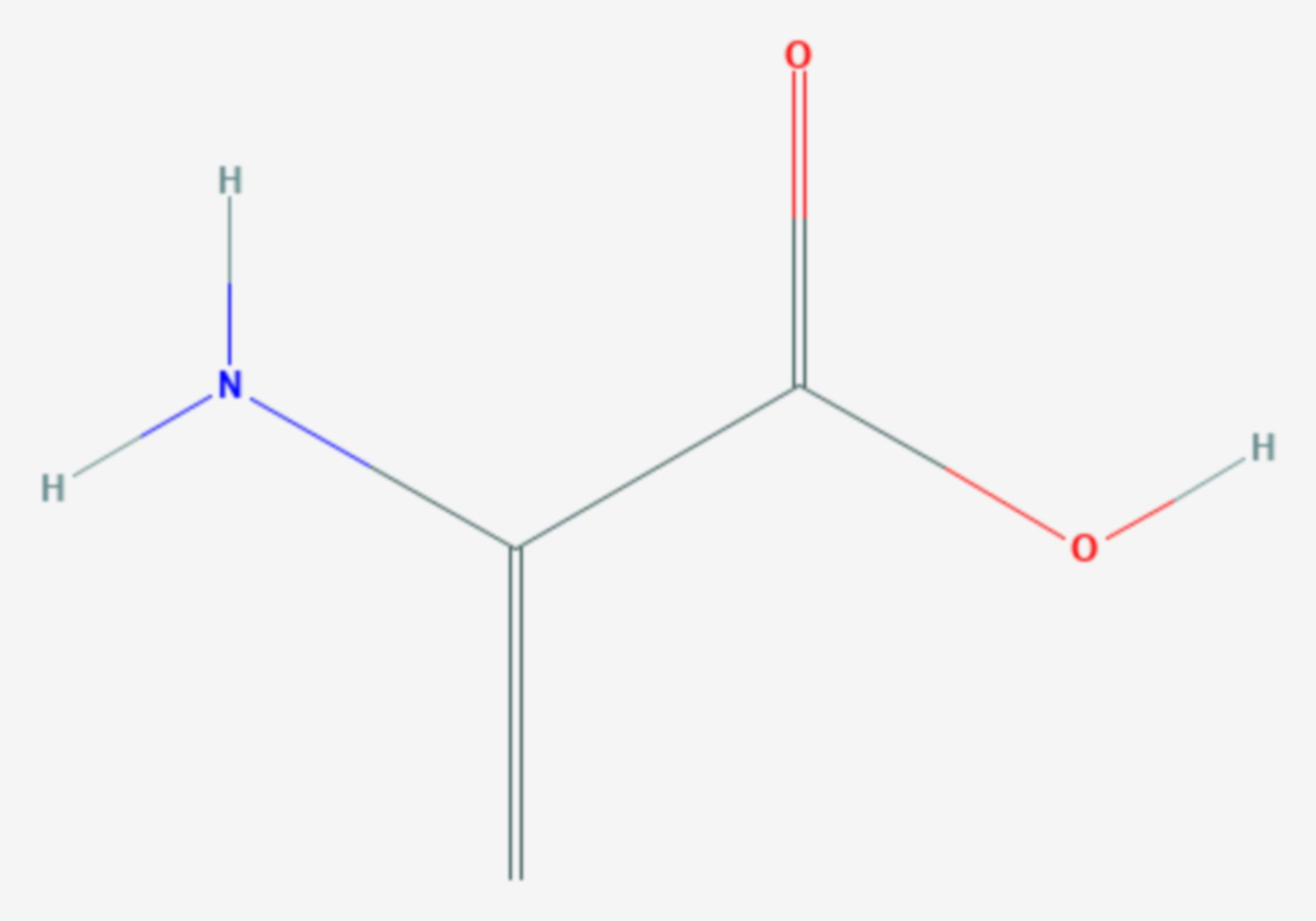 Dehydroalanin (Strukturformel)