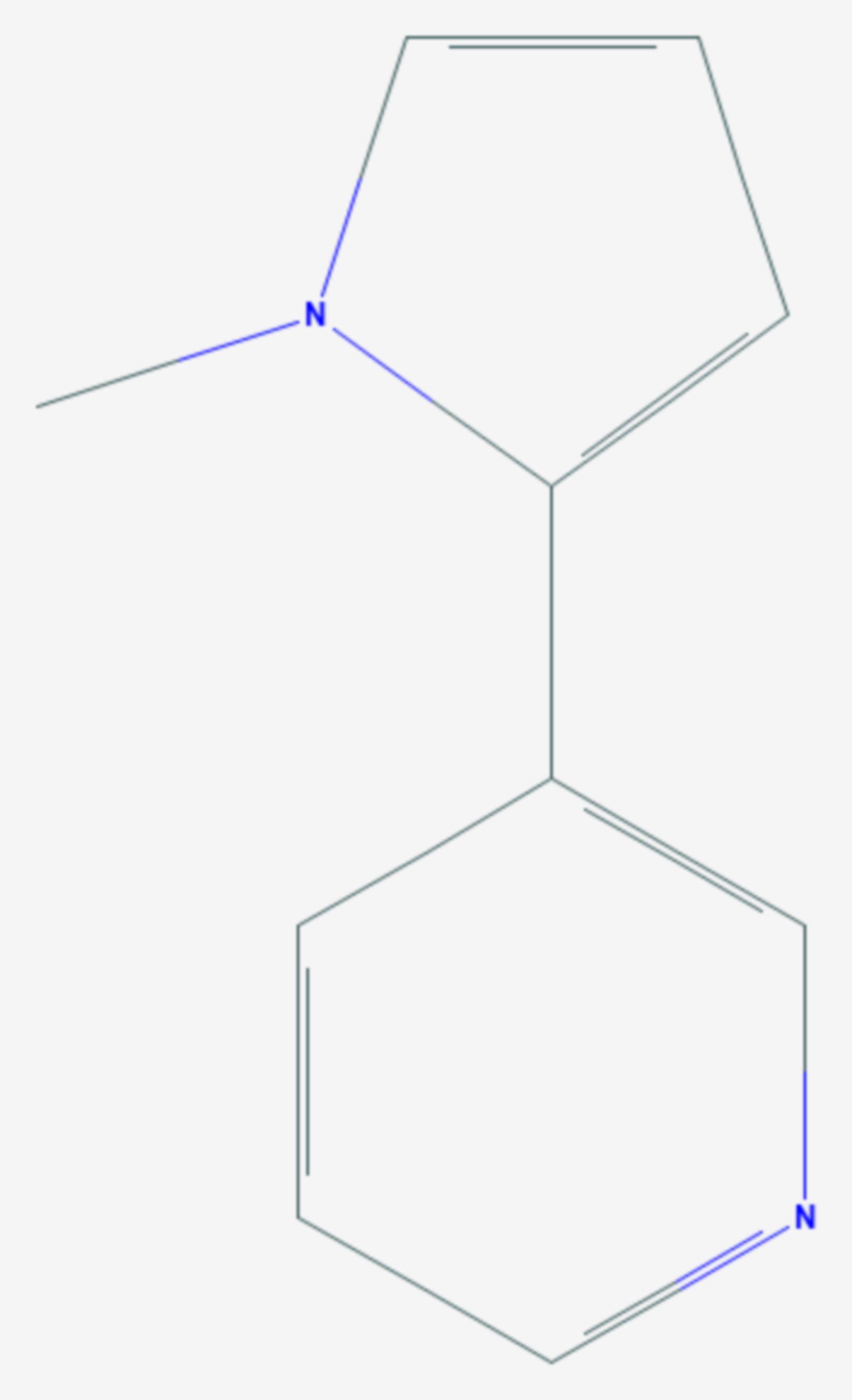 Nicotyrin (Strukturformel)