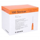 BBraun Aiguilles à héparine et tuberculine Sterican