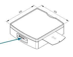 Schubfachblock mit Mousepad