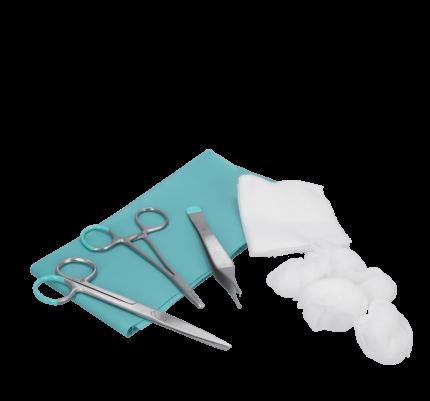 Chirurgisches Naht-Set I/II
