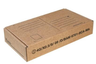 Post Transportverpackung für diagnostische Proben