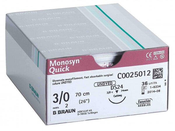Monosyn Praxis-Naht-Set