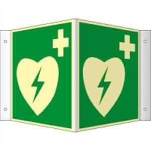 Nasenschild Defibrillator/AED