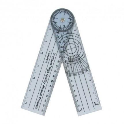 Protractor goniometer