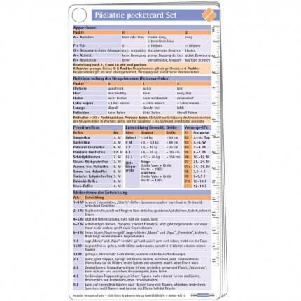 Pädiatrie pocketcard Set
