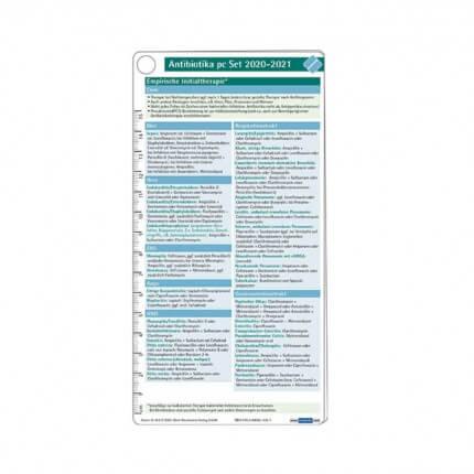 Antibiotika pocketcard Set 2020-2021