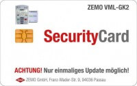 ZEMO VML-Security Card, Update auf die Firmware 3.1.0