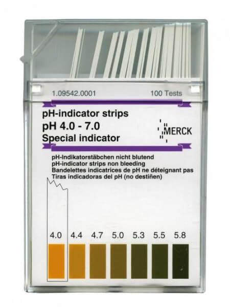 pH-Indikatorstäbchen