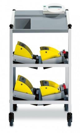 985 Bett- und Dialysewaage mit Gerätewagen