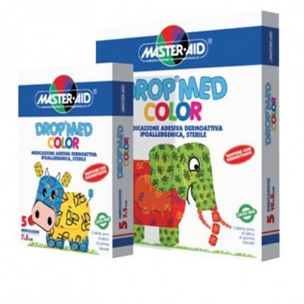 Drop Med Color Kinder-Wundverband