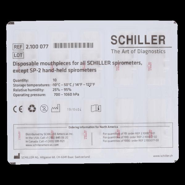 Mundstücke für Schiller-Spirometer