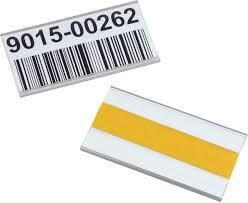 Etikettenclip mit Deckel