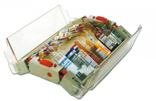 mobiler Ampullen-Spender