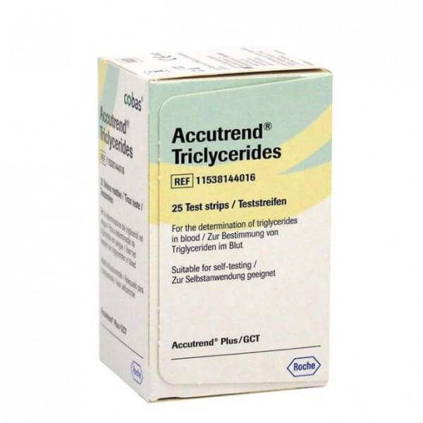 Accutrend Triglycerides Teststreifen
