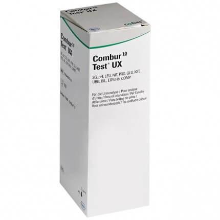 Combour-10-Test UX Bandelettes de test urinaire pour Urisys 1100