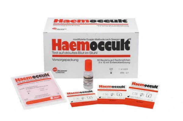 Test de dépistage du cancer Hemoccult