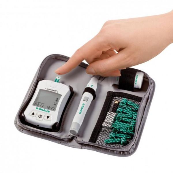 Omnitest 3 Blutzuckermessgerät-Set