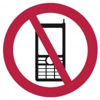 OTTO Office Hinweis-Schild Handyverbot