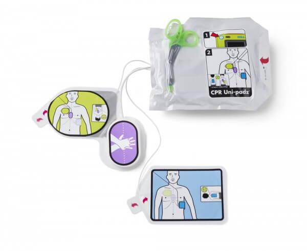 CPR Uni-padz Elektrode für Zoll AED