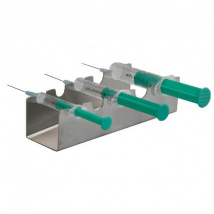 Stainless Steel Storage Tray for Syringes