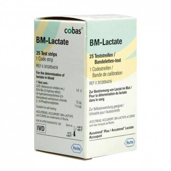 Accutrend BM-Lactate Teststreifen