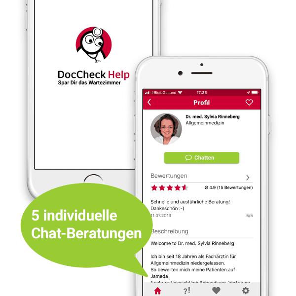 DocCheck Help Gesundheits-Coaching