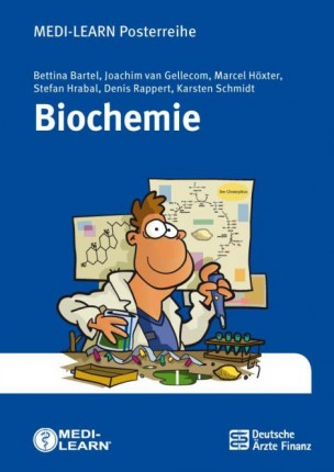 Affiche de biochimie DIN A1, pliée en A4, 4ième édition