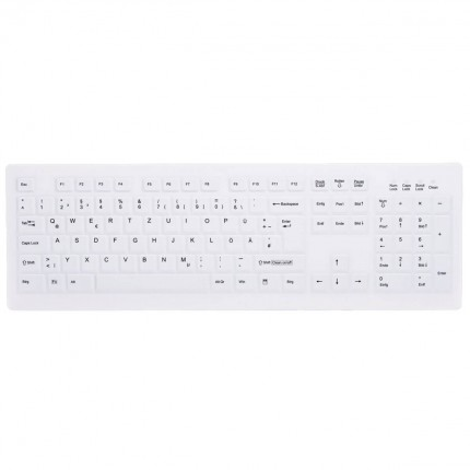AK-C8100 Desinfizierbare PC Tastatur