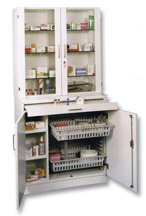 Armoire médicale de cabinet
