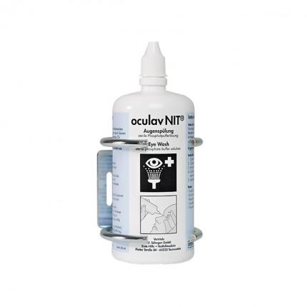 Flaschenhalterung für Augenspülung