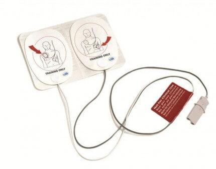 Trainingselektroden für den AED von Philips FR / FR 2