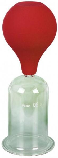 Massage glass, with ball