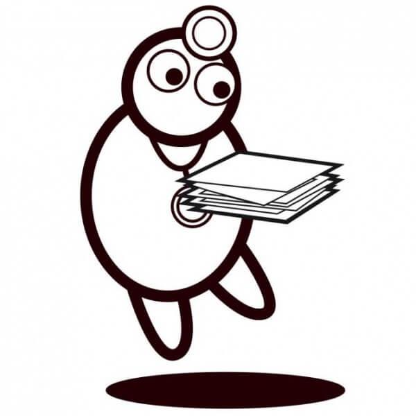 Papier für Fukuda-Spirometer