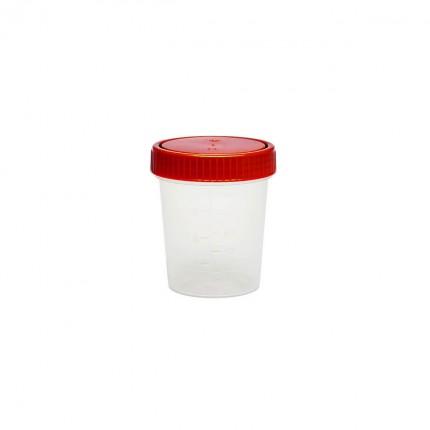 Urinbecher mit Schraubdeckel