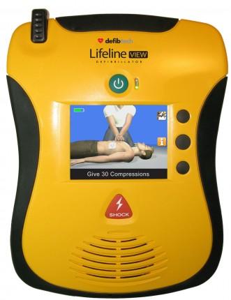 Lifeline VIEW AED Halbautomat
