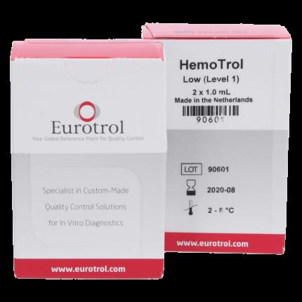 Solution de contrôle Eutrol Hemotrol