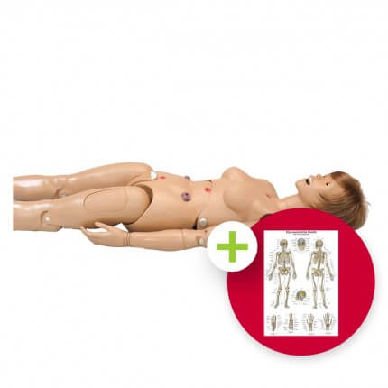 Krankenpflegepuppe Standardausführung