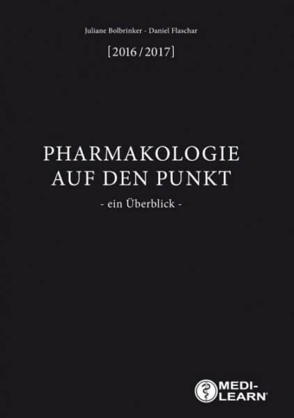Pharmakologie auf den Punkt - 2016/2017