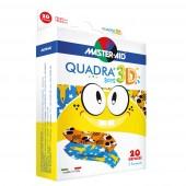 Master Aid Quadra 3D Kinderpflaster