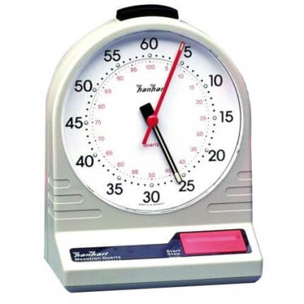 Table Stop-Watch with night-luminescent display
