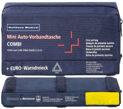 Mini Auto-Verbandtasche Combi