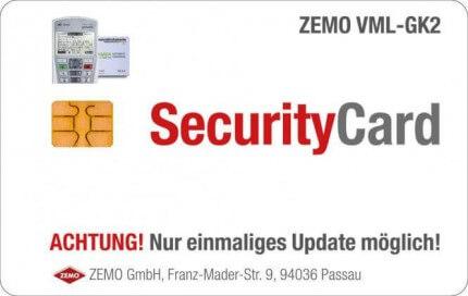 VML-Security Card, Update auf die Firmware 3.1.0