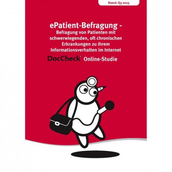 ePatient-Befragung - Informationsverhalten im Internet