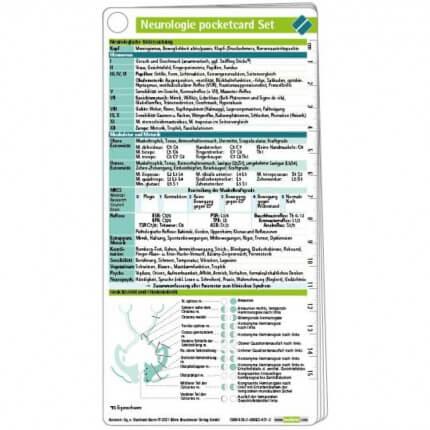 Neurologie pocketcard Set